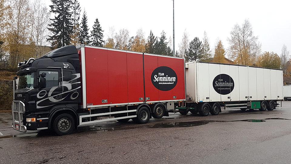 Kuljetuspalvelut Team Sonninen